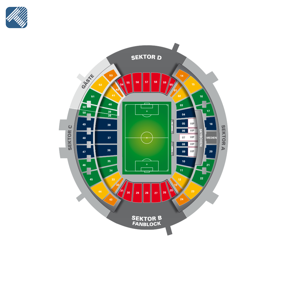 Red Bull Arena Leipzig Seating Plan Elcho Table